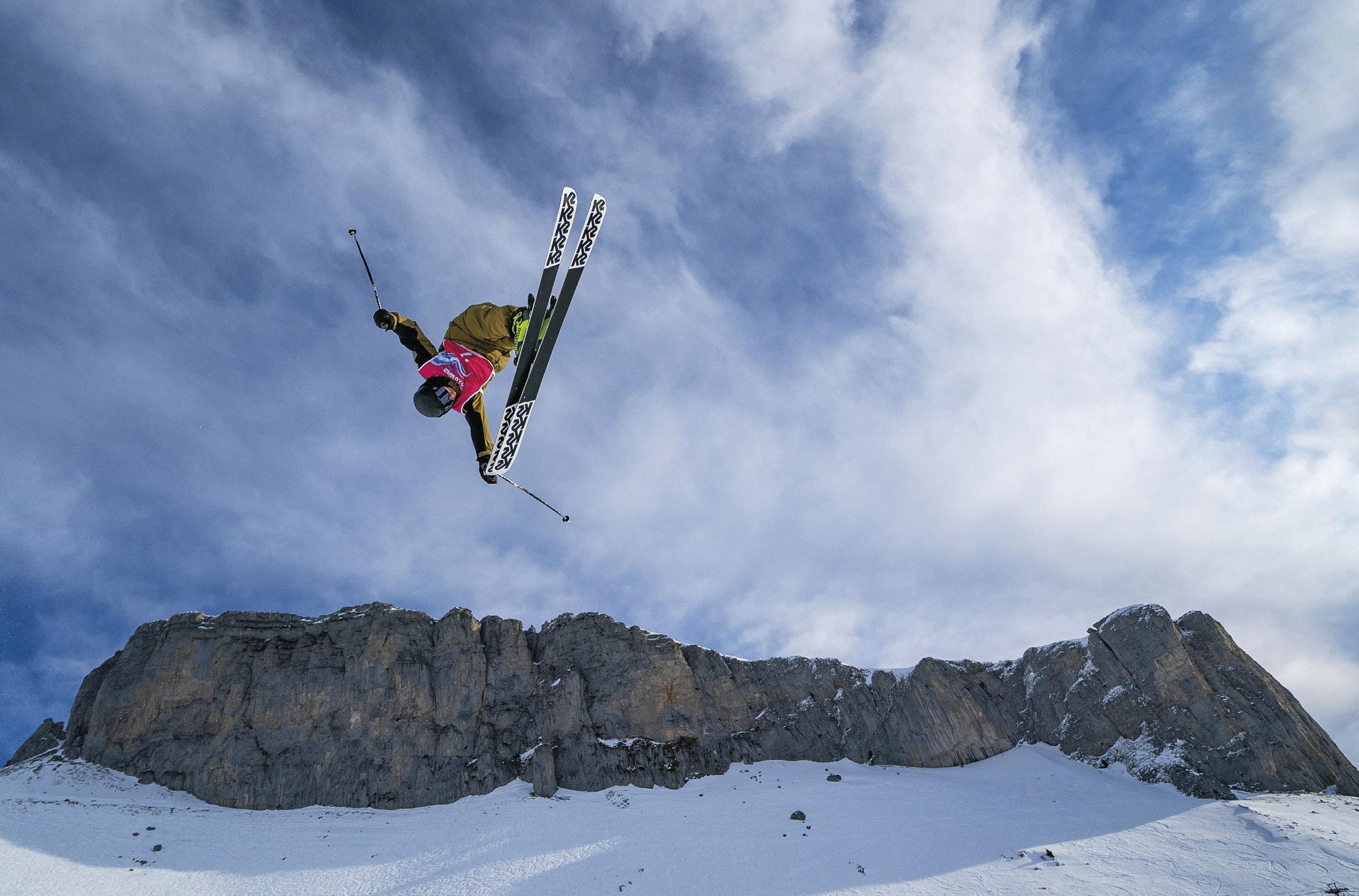 Jogos Olímpicos da Juventude de Inverno Lausanne 2020 em Leysin, Suíça. EPA / BOR MARTIN.