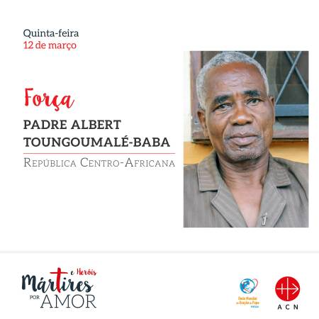 FORÇA - República Centro-Africana: Padre Albert Toungoumalé-Baba
