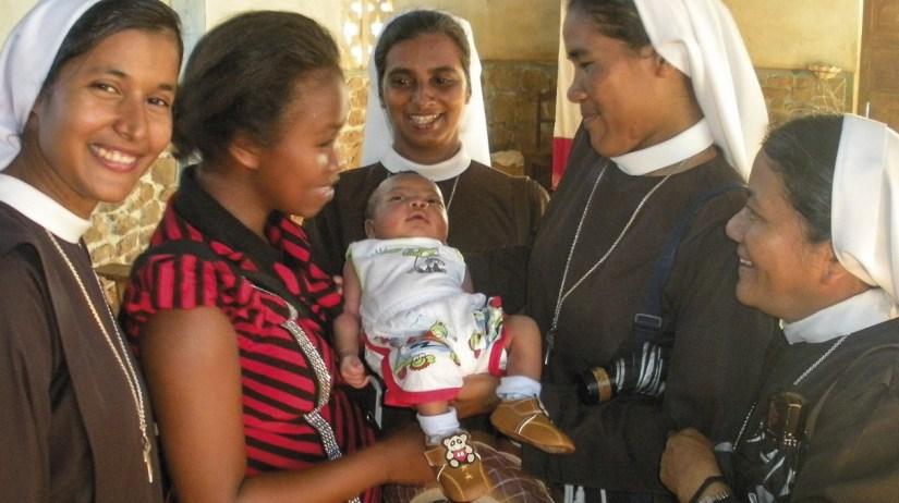 Missão das Irmãs Clarissas Franciscanas em Gabu, Guiné-Bissau.