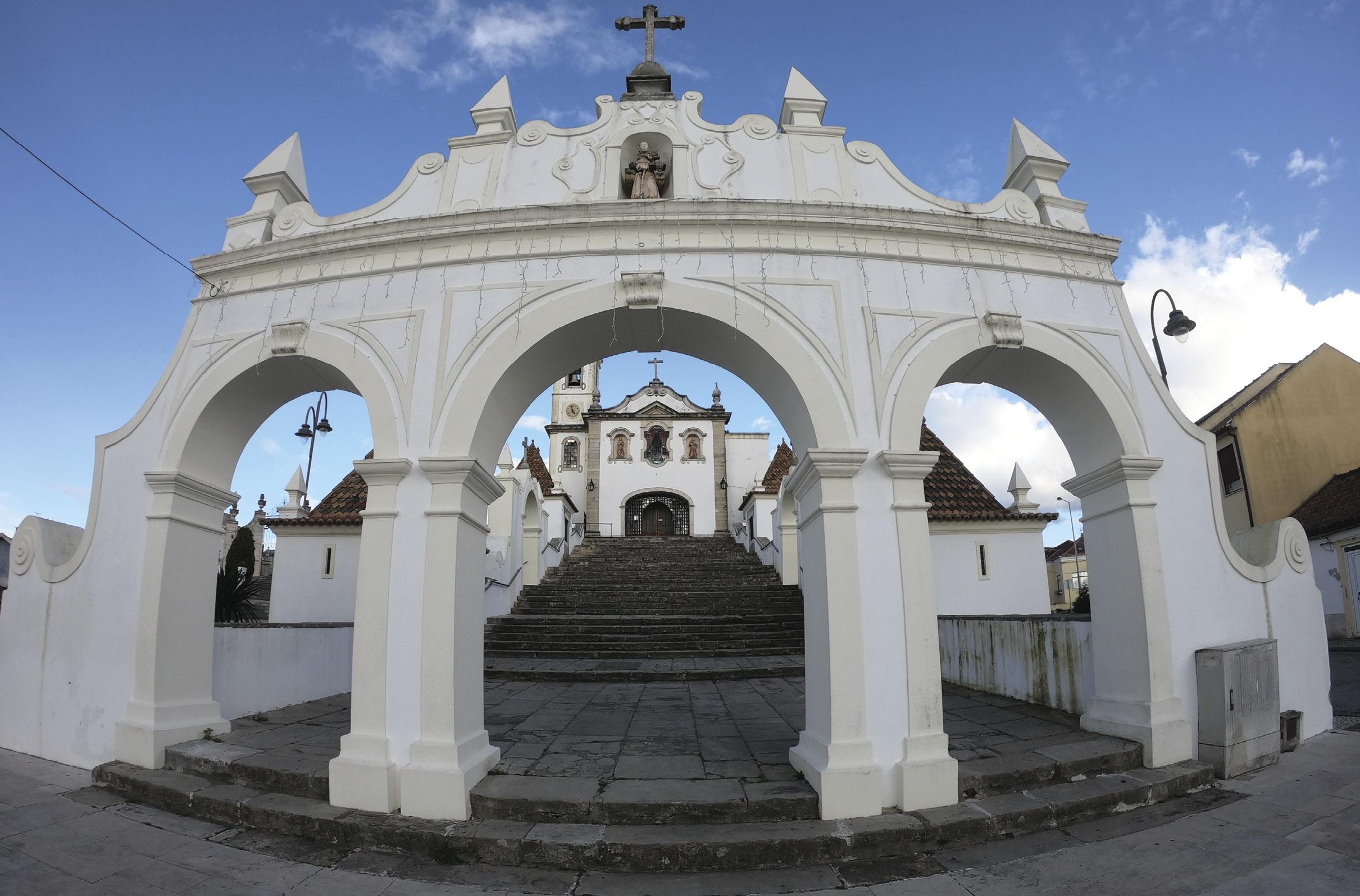 Escadaria da Igreja de Santo António dos Olivais, Coimbra