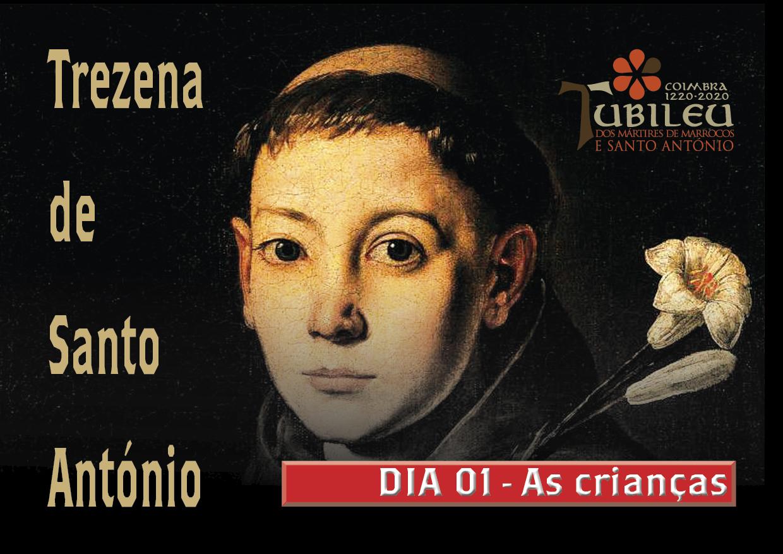 Trezena de Santo António - Dia 1 - As crianças