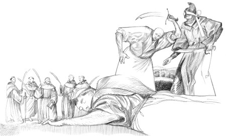 Santo António e os Mãrtires de Marrocos, de Luca Salvagno