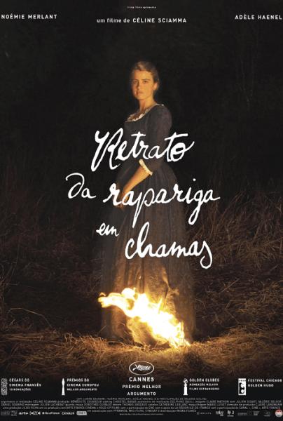 Portrait de la Jeune Fille en Feu - Retrato de uma rapariga em chamas, de Céline Sciamma, Drama, M/12, França, 2019.