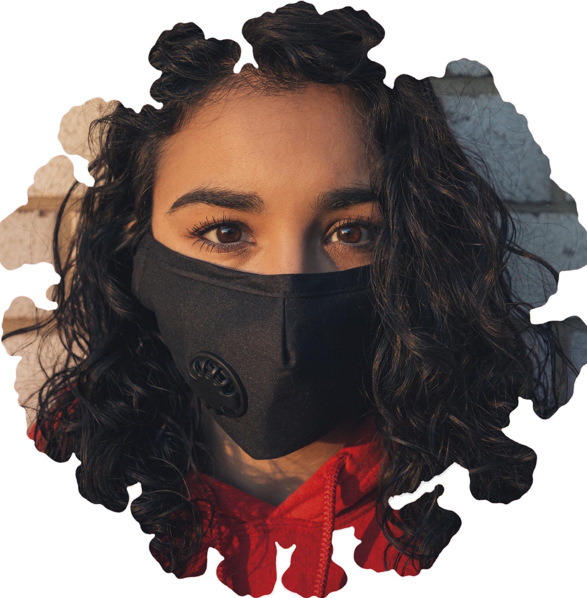 Fotomontagem MSA: coronavirus e foto de Gayatri Malhotra | Unsplash