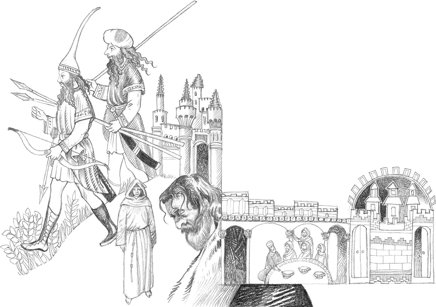 Ilustração de Luca Salvagno | Messaggero di Sant'Antonio