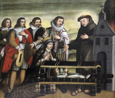 Óleo sobre tela, Escola portuguesa, século XVII. MLSA.PIN.0046 Em exposição no Museu de Lisboa – Santo António