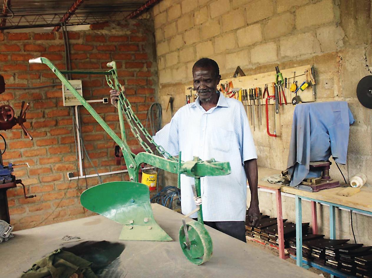 Os arados coloridos são armas contra a pobreza e o conflito