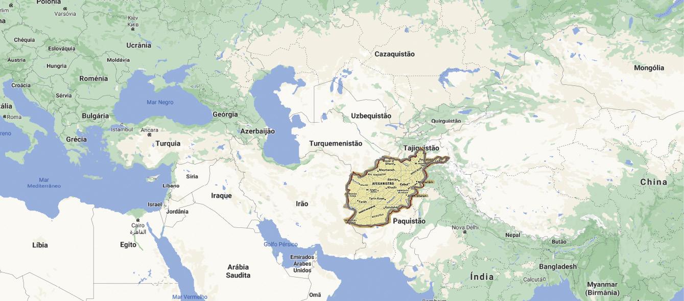 Mapa e Texto elaborados a partir do Google Maps, da Enciclopédia Británica e da Wikimedia.