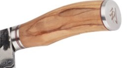 Fleischmesser mit Holzgriff