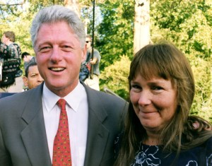 Clinton and Fran