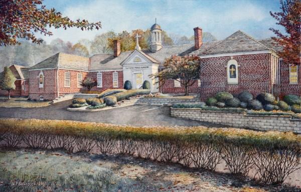 University Art Prints Gwynedd Mercy Academy by Santoleri