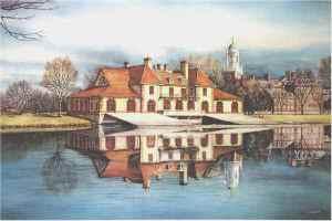 Harvards boathouse Santoleri