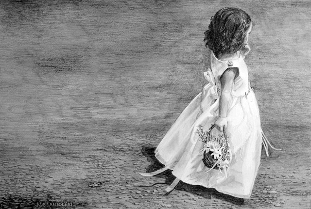 Flower Girl by N. Santoleri 2011