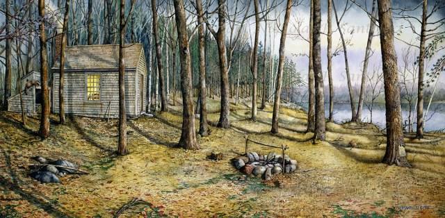Woodland Visitors by Nicholas Santoleri