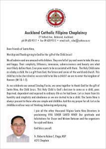 Sinulog 2012 Message from Fr. Ruben Elago, MSP