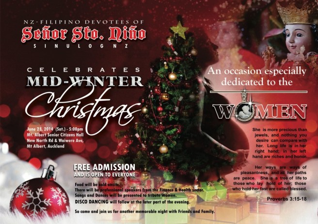 midwinter christmas for women - poster