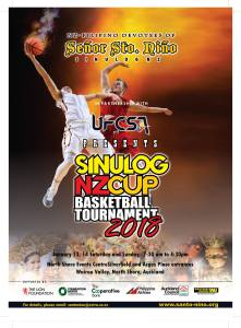 Sinulog NZ Cup Basketball Tournament 2018