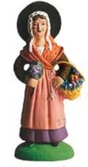 Bouquetière (Woman with Flowers)