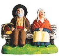 Couple Sur Le Banc (Couple on Bench)
