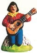 Gitan A La Guitar (Gypsy with Guitar)