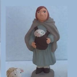 Jeune fille bergère