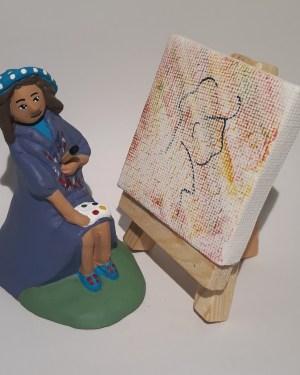 Artiste peintre santons de provence