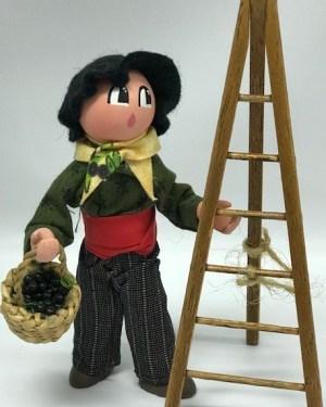 Homme Olives santons de provence