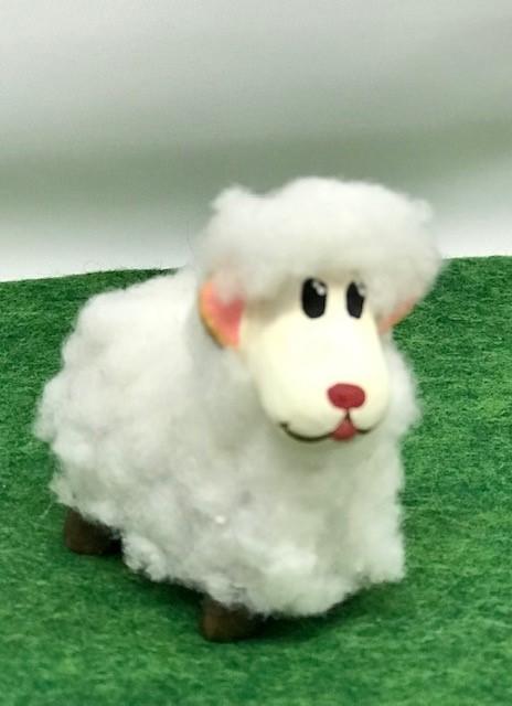 Mouton blanc santons de provence
