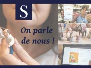 Santons de Provence à l'honneur dans Var-Matin