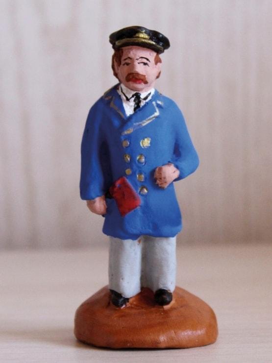 chef de gare Santons de Provence