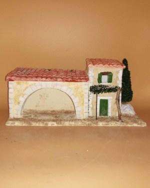 Mas provençal décor de crèche