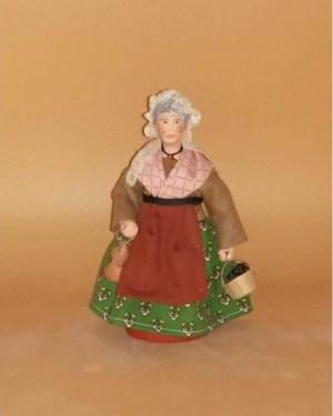 Femme aux cruches santons de provence