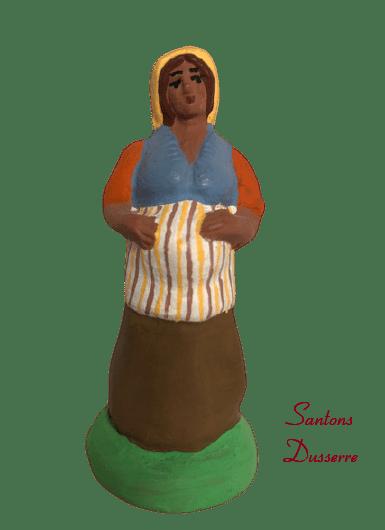 Femme enceinte santons dusserre