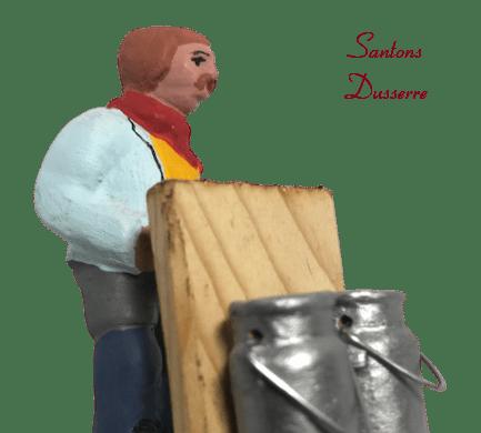 Laitier santons dusserre