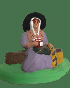 Marchande de figues santons dusserre