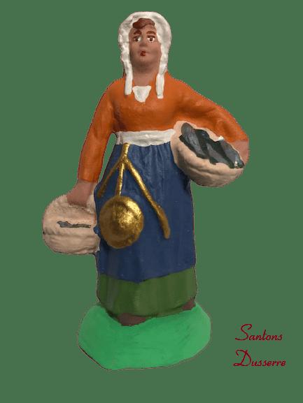 Poissonnière santons dusserre