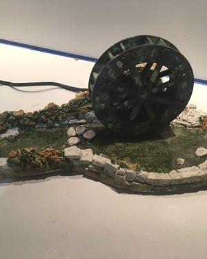 Rivière et la roue santons de provence