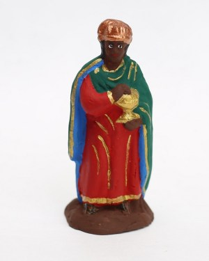 Roi mage Balthazar santons de Provence
