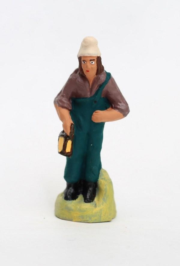 homme à la lanterne santons de provence