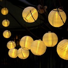 Santorini Solar Lantern Lights