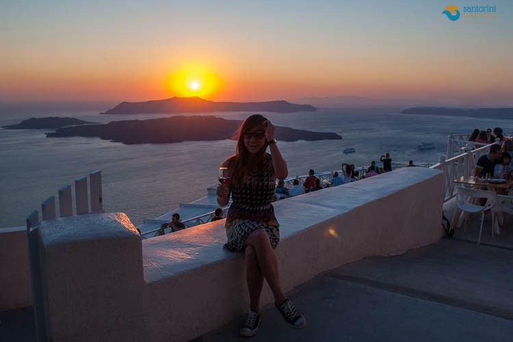 ENJOY THE MOST BREATHTAKING SUNSET IN SANTORINI