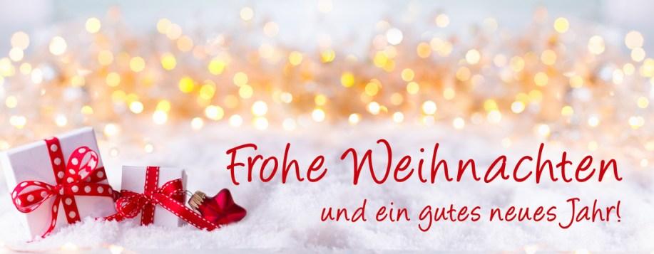 Frohe Weihnachten und ein gutes neues Jahr! Grusskarte, Weihnachtskarte