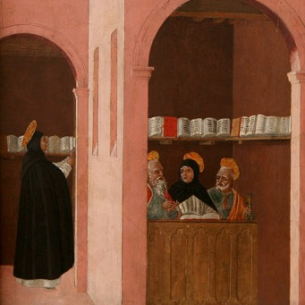 Santo Tomás 10_Aided_by_Saints_Peter_and_Paul_(Bartolomeo_degli_Erri_1460)