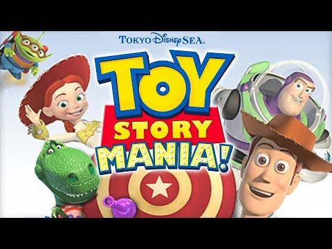 Toy Story Mania! – Queue Area Background Music