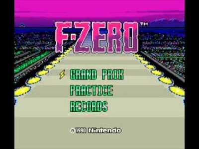 スーパーファミコン版 F-ZERO BGM集 GAME MUSIC SNES