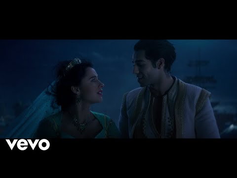 "Mena Massoud, Naomi Scott – A Whole New World (From ""Aladdin"")"