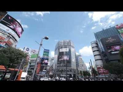 FGO 4th Anniversary CM in Shibuya