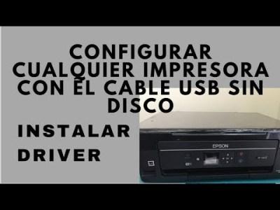 ✔️COMO INSTALAR IMPRESORA SIN EL DISCO DVD, CD👈