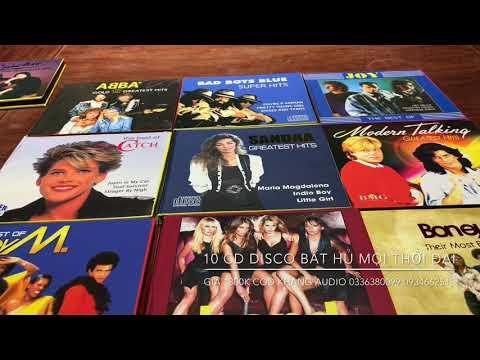 10 CD Disco Bất Hủ Mọi Thời Đại Giá 1300K Khang Audio 0336380099 0934662513 (Hiện Còn Hàng)