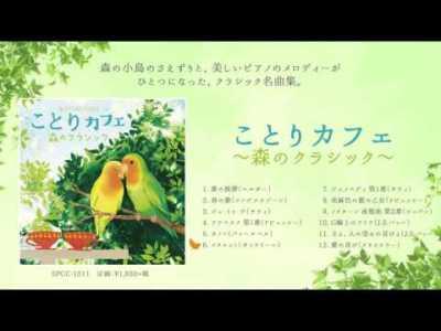 ピアノのクラシック名曲集&全曲小鳥の声ミックス/ the most Relaxing Classical Piano Music with Birds for ことりカフェ